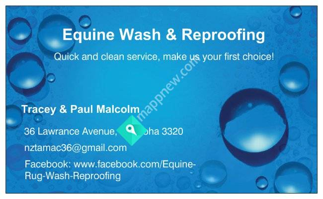 Equine Rug Wash & Reproofing
