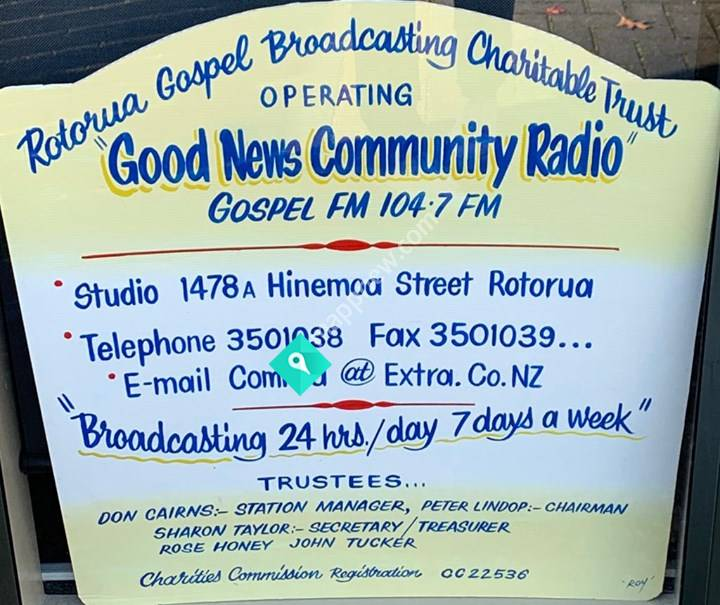Good News Community Radio 104.7FM Rotorua